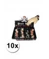 10 piraten armbandjes