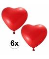 Voordelige rode hartjes ballonnen