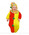 Carnavalskostuum Baby trappelzak clown