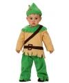 Robin Hood kostuum voor een baby