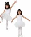 Witte balletdanseres jurkjes voor meisjes