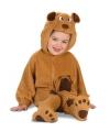 Dierenpak Beren baby kostuum
