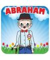 50 jaar Abraham bierviltjes 25 stuks