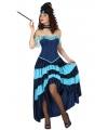 Moulin Rouge danseres kostuum voor dames