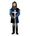 Blauw ridder kostuum voor kinderen