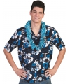 Carnavalskostuum Blauwe Hawaii blouse Honolulu
