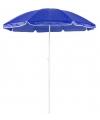 Blauwe strand parasol van nylon