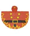 Regenkleding brandweer poncho voor kids
