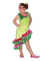 Carnavalskostuum Caribien jurkje voor meisjes