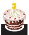 Verjaardag Kaarsje 3 jaar