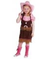 Carnavalskostuum Cowgirl kostuum meisjes