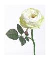 Nep roos wit 33 cm
