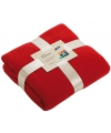 Fleece deken rood