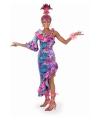 Carnavalskostuum Fleurige salsa jurk