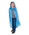 Luxe blauwe mantel voor kinderen
