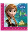 Frozen themafeest papieren servetjes 20 stuks