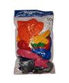 Voordeelset gekleurde ballonnen 50x