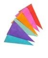Kleurige papieren slinger 10 meter