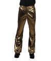 Carnavalskostuum Glimmende gouden disco broek