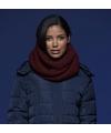 Grof gebreide ronde mode sjaal