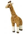 Grote pluche giraffes met kraalogen 63 cm