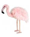 Grote realistische flamingo 38 cm