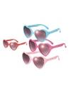 Brillen met hartvormige glazen