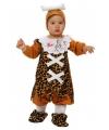 Baby verkleedkleding met luipaard print