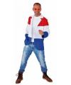 Getailleerd heren jasje met de Nederlandse vlag