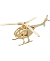 Houten 3D puzzel helicopter