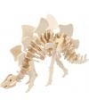 Houten 3D puzzel dinosaurier Stegosaurus met app