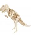Houten 3D puzzel dinosaurier T-rex met app