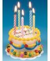 Kaars in taart vorm happy birthday