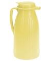 Koffiekan geel 1 liter