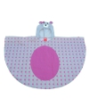 Regenkleding konijn poncho voor kids