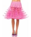 Lange fuchsia petticoat voor dames