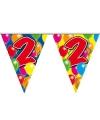 Verjaardag Leeftijd vlaggenlijn 2 jaar 10 meter