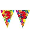 Verjaardag Leeftijd vlaggenlijn 3 jaar 10 meter
