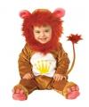Dierenpak Leeuwen baby kostuum