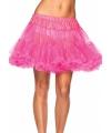 Luxueuze petticoat neon roze