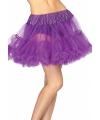 Luxueuze petticoat paars