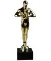 Film award beeldje goud