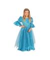 Blauwe prinsessen kostuums voor meisjes