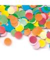 Confetti zak 1 kg multicolor