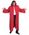 Carnavalskostuum Luxe rode mantel