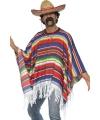 Carnavalskostuum Mexicaanse poncho