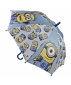 Minions paraplu blauw
