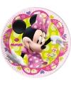 Weggooi bordjes van Minnie Mouse