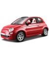 Modelauto Fiat 500 cabrio 1:24