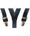 Elastische bretels navy voor meisjes